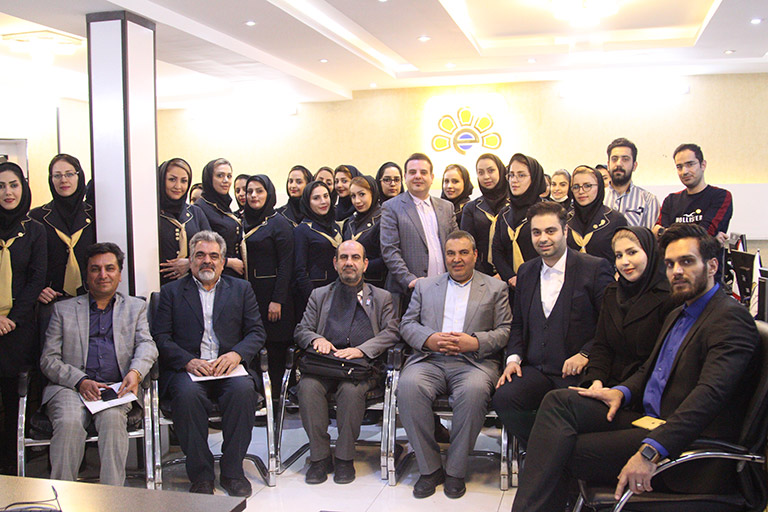 بازدید اعضای اتاق بازرگانی استان اصفهان از هولدینگ پارس